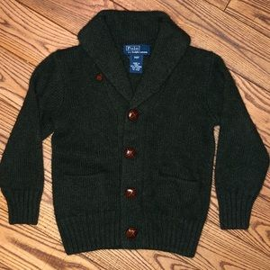 POLO Ralph Lauren Baby Boys Cardigan Sweater- 2/2T